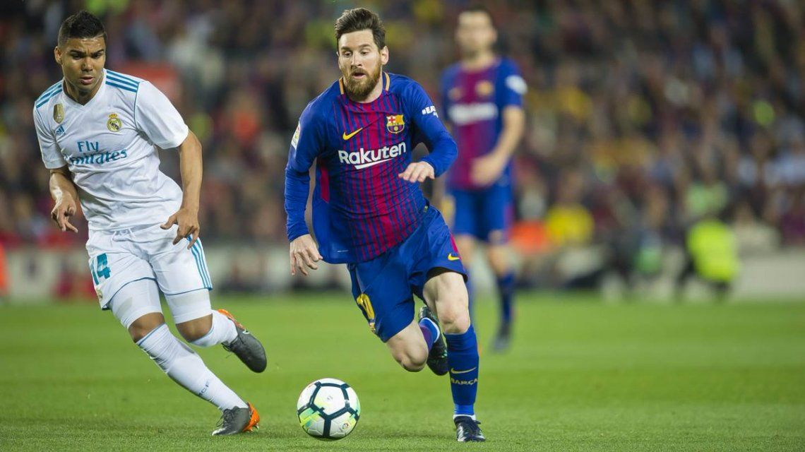 Con Messi en el banco, Barcelona y Real Madrid chocan en el Camp Nou
