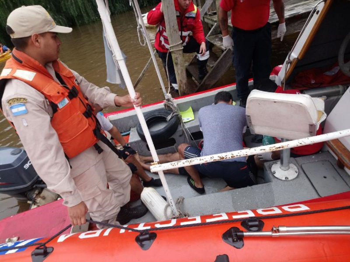 Rescate en el Río Sarmiento