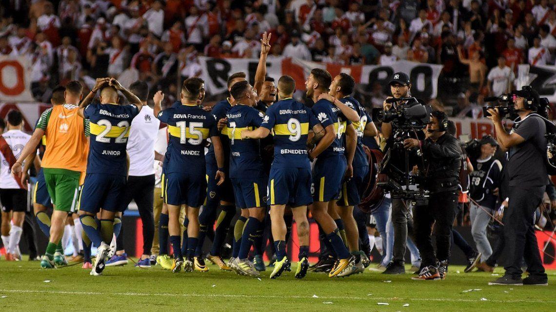 Boca le ganó a River 2 a 1 en el Monumental en el Superclásico de la Superliga