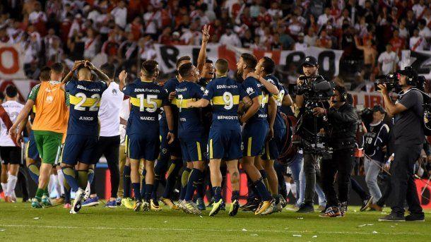 Boca le ganó a River 2 a 1 en el Monumental en el Superclásico de la Superliga<br>