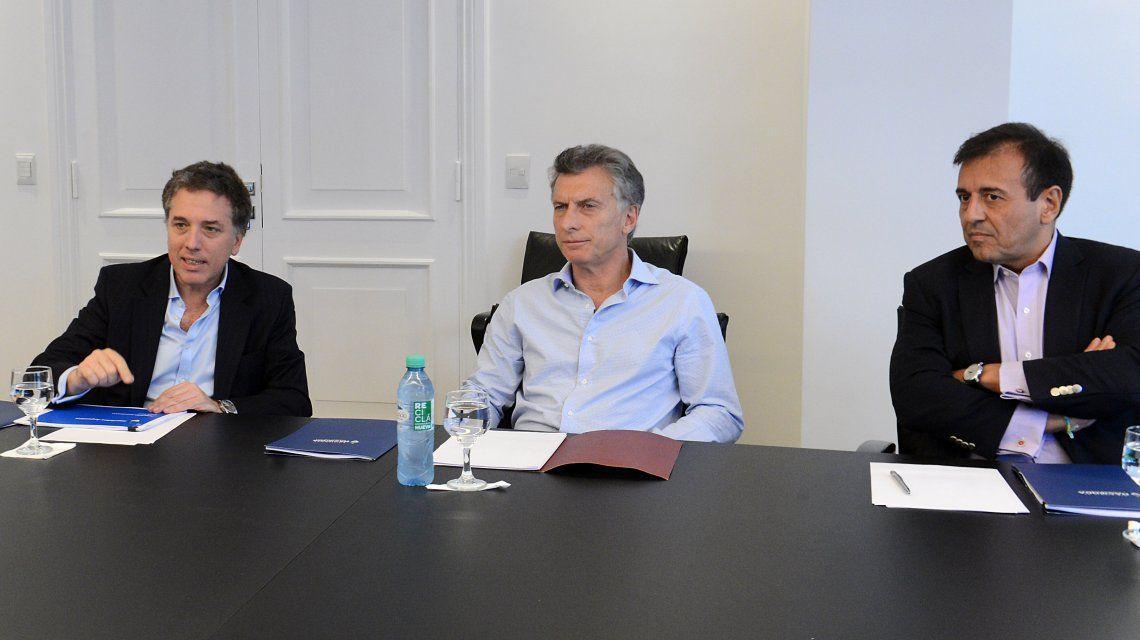 Dujovne se reunió con Mauricio Macri en Olivos