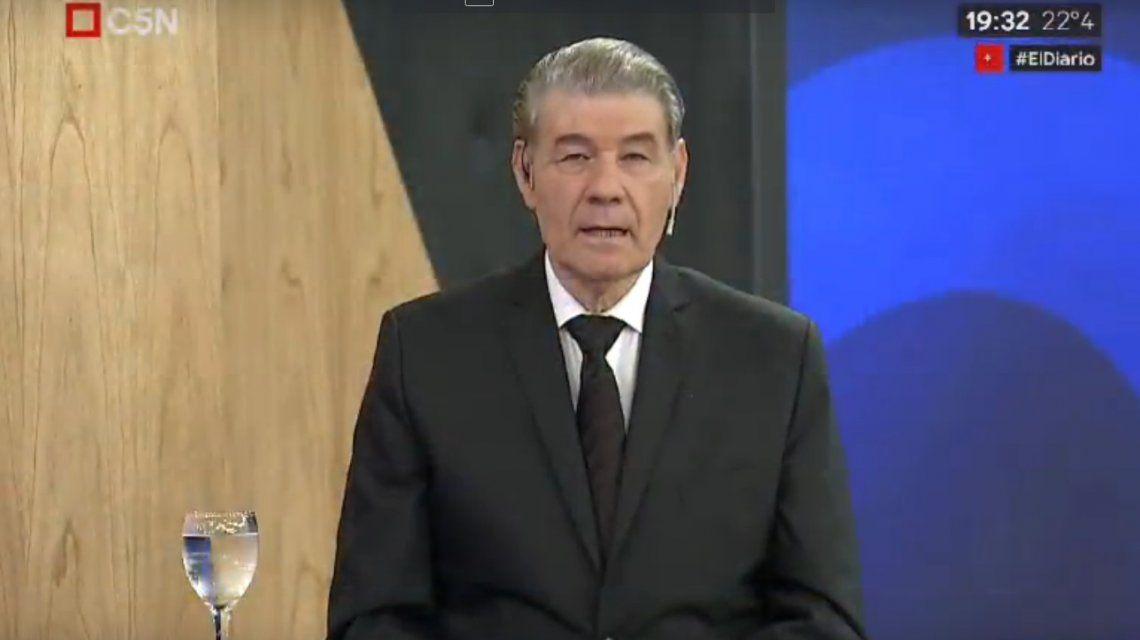 Víctor Hugo Morales: Se conoció el verdadero rostro extorsionador de la DAIA