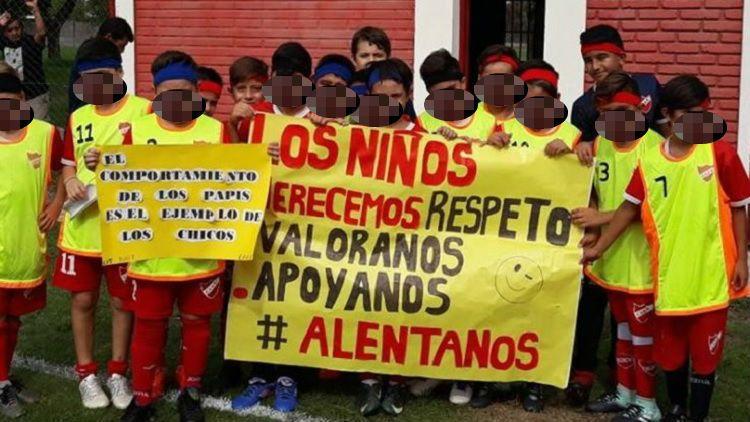 La categoría 2007 del Club Atlético Adelante de Reconquista y un gesto ejemplar