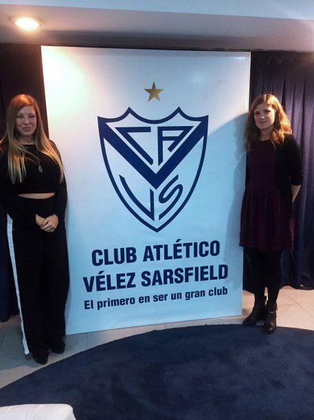 Paula Ojeda y Lucía Cirmi son las encargadas del área