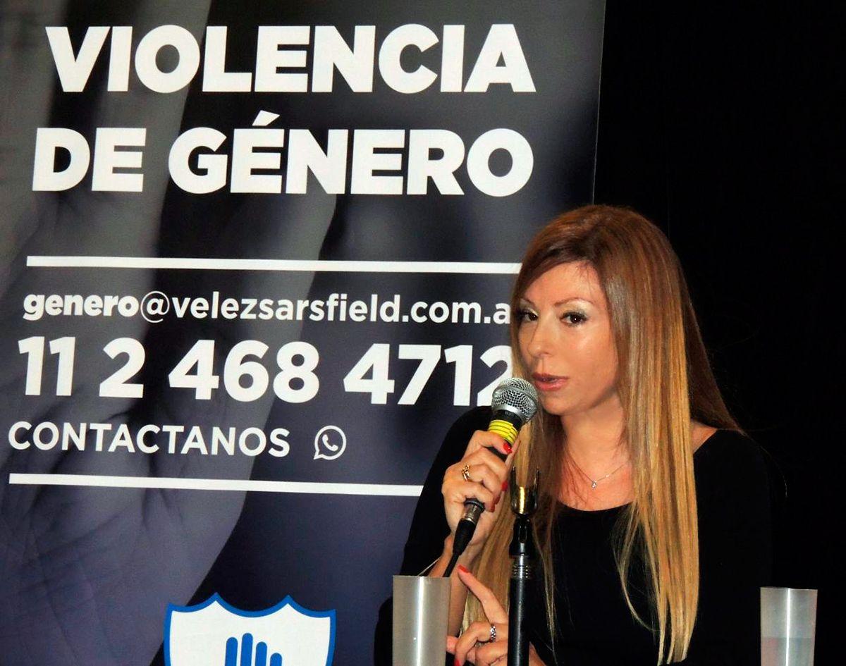Paula Ojeda es la encargada del área sobre Violencia de Género en Vélez