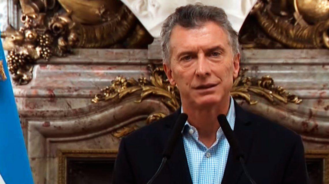 Macri, en medio del pico histórico del dólar: He iniciado conversaciones con el Fondo Monetario