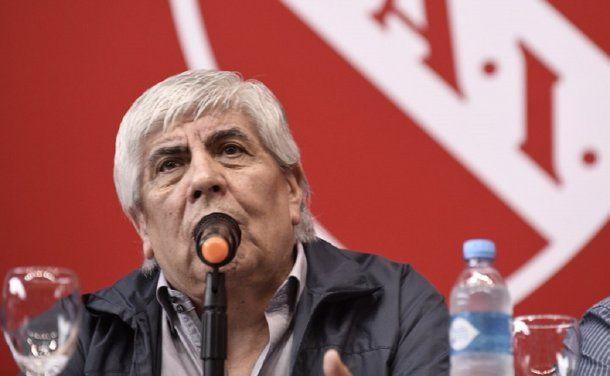 <p>Hugo Moyano</p>