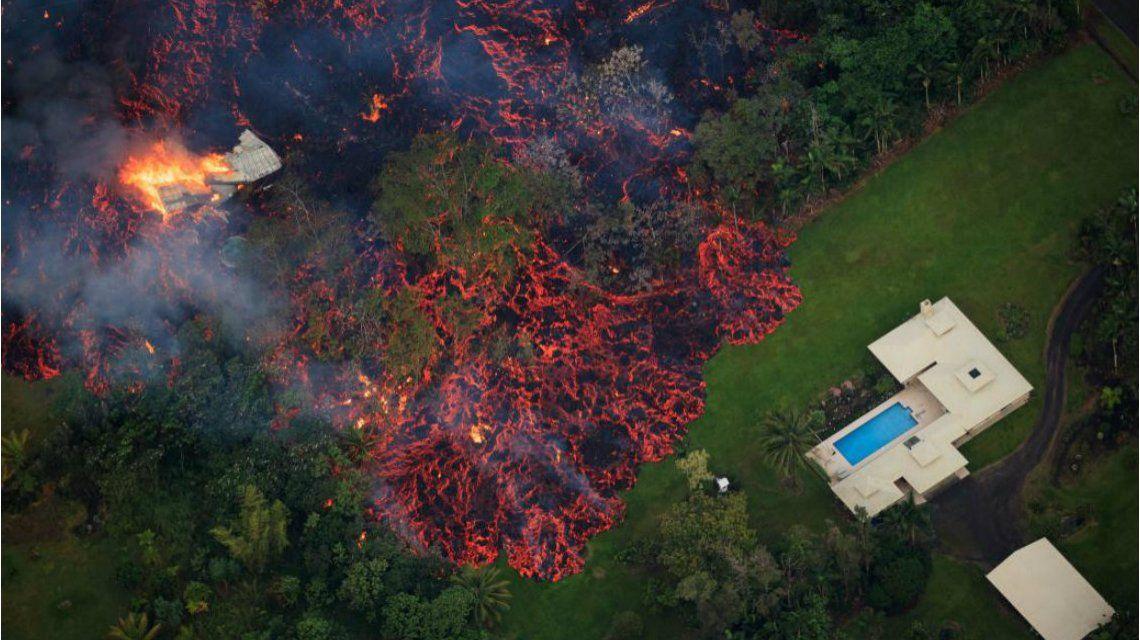 La lava del Kilauea amenaza a la población de la isla de Hawaii