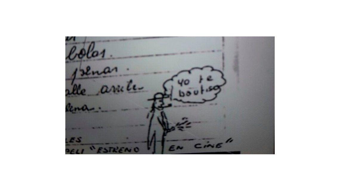 Dibujos fálicos y textos perversos: las cartas de uno de los curas acusado de abuso sexual en el Próvolo