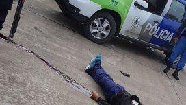 Baleó a un policía, mató a un hombre para robarle el auto y murió en un tiroteo