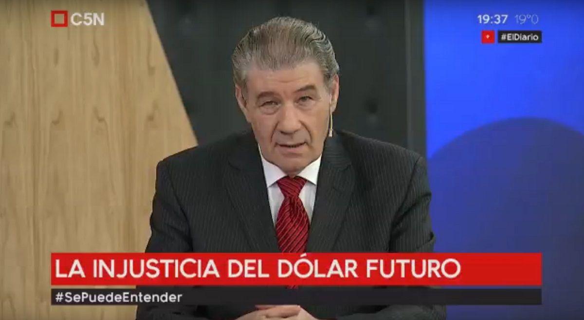Víctor Hugo: Por hipocresía, el gobierno no usó el dólar futuro