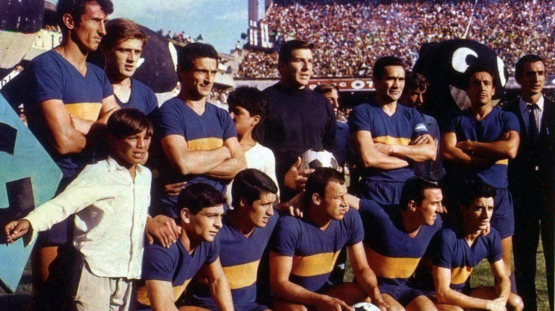 El Boca de 1965 con Roma