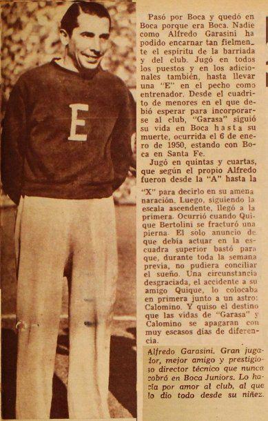 Alfredo Garasini, el otro bicampeón como DT y jugador<br>