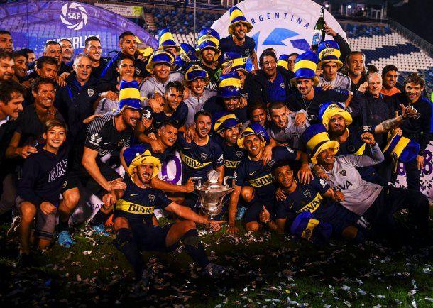 Boca campeón de la Superliga 2017/18<br>