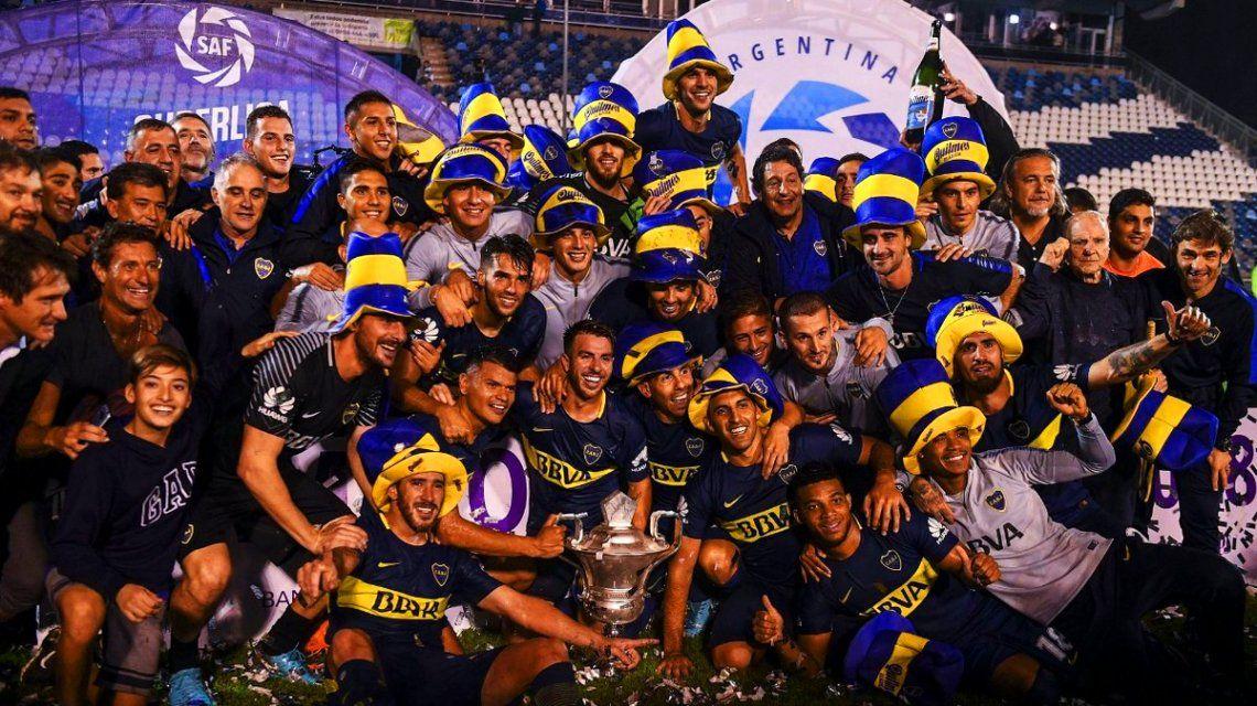 Boca campeón de la Superliga 2017/18