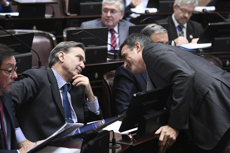 Miguel Ángel Pichetto y Esteban Bullrich