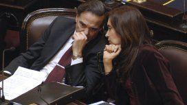 Miguel Ángel Pichetto y Cristina Fernández de Kirchner
