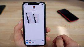 El círculo negro llegó al iPhone