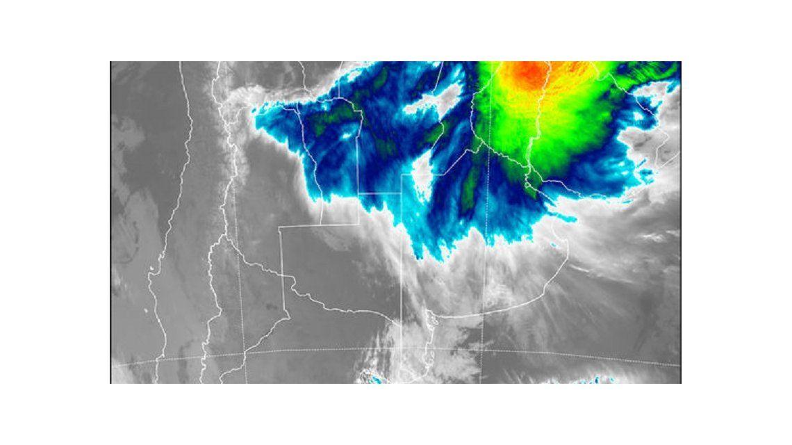 Un sistema de baja presión provocaráfuertes lluvias. (SMN)
