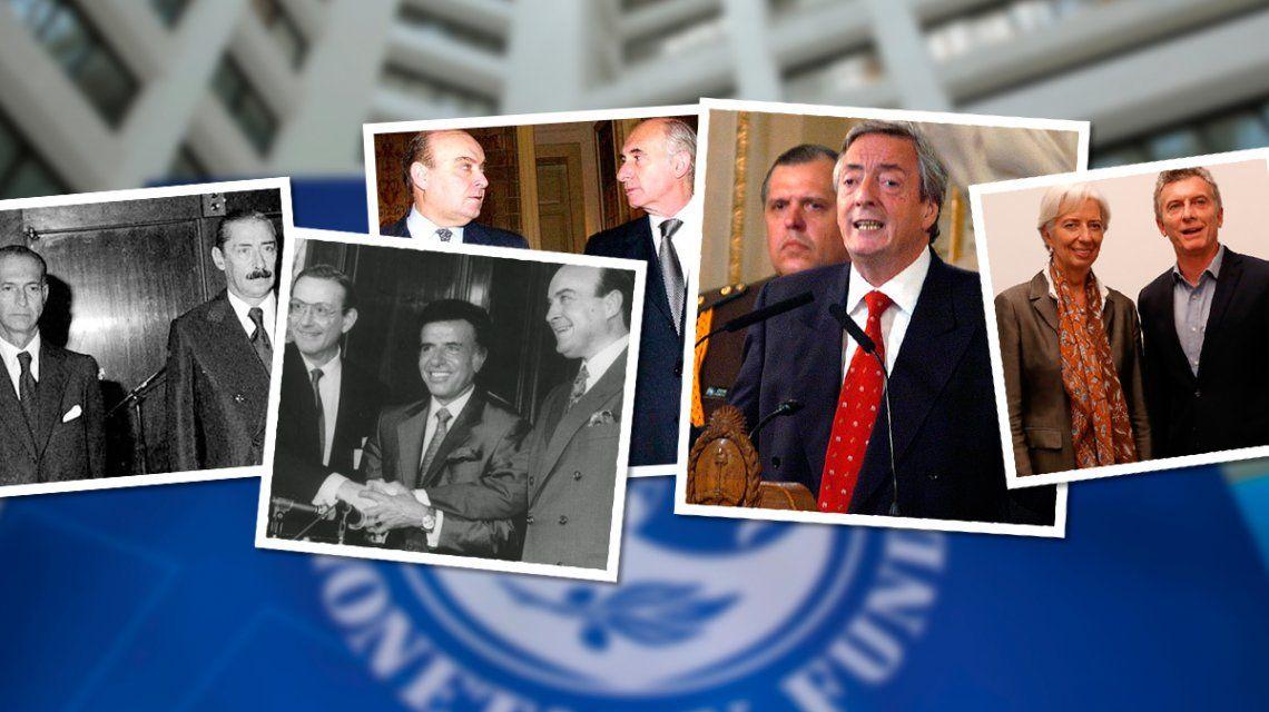 La Argentina y el FMI: una relación de más de 60 años que marcó el pulso de la economía local