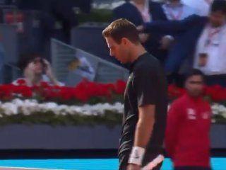 Del Potro cayó ante Dusan Lajovic en el Masters de Madrid