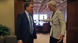 Lagarde y Dujovne estuvieron reunidos durante 40 minutos