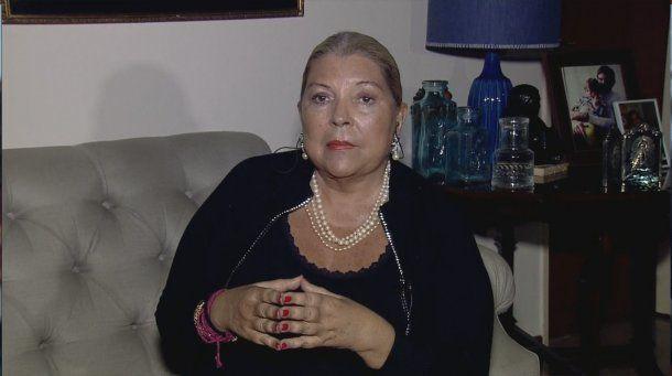 <p>Elisa Carrió </p>
