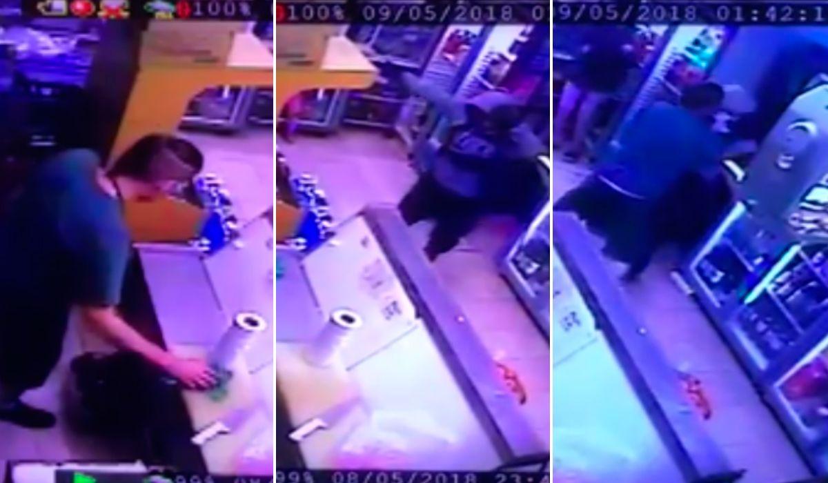 Caleta Olivia: se defendió de un robo con botellas de cerveza
