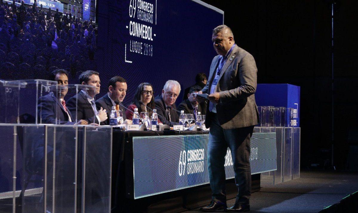 Chiqui Tapia fue elegido como vicepresidente de la Conmebol