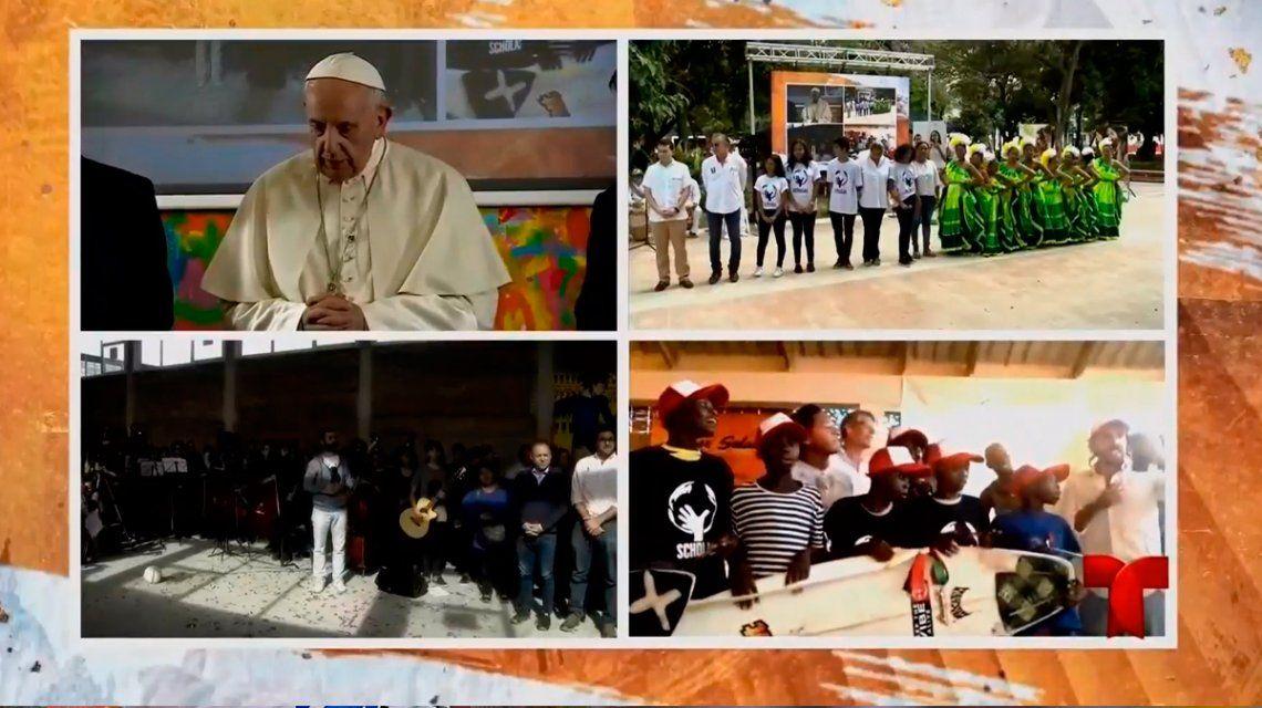 El consejo del Papa a los jóvenes argentinos: No se jubilen antes de tiempo