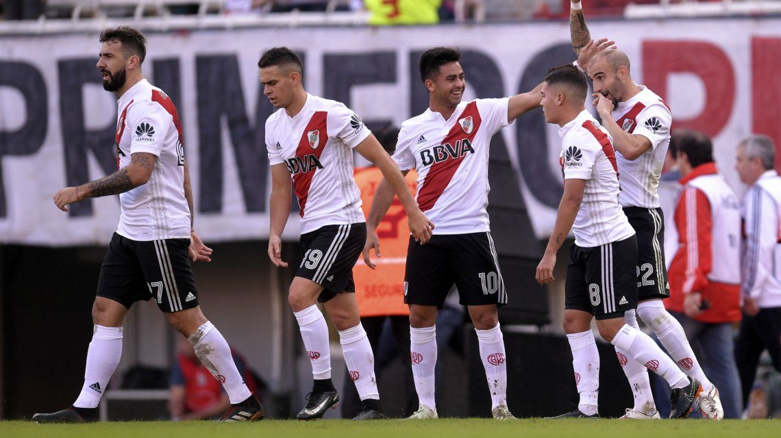 River venció a Estudiantes y puso un pie en la Sudamericana 2019