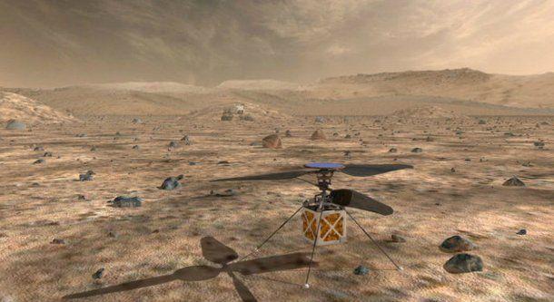 La NASA enviará un helicóptero a Marte en 2020