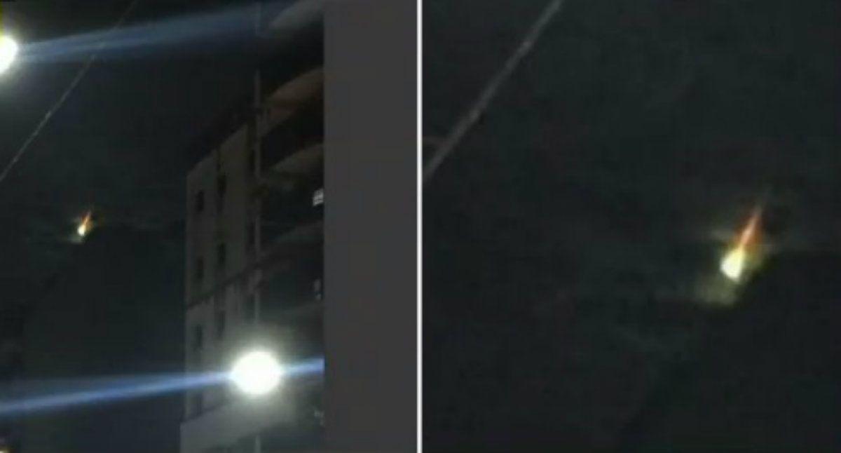 ¿Qué fue la luz que se vio en el cielo de Caballito este viernes?