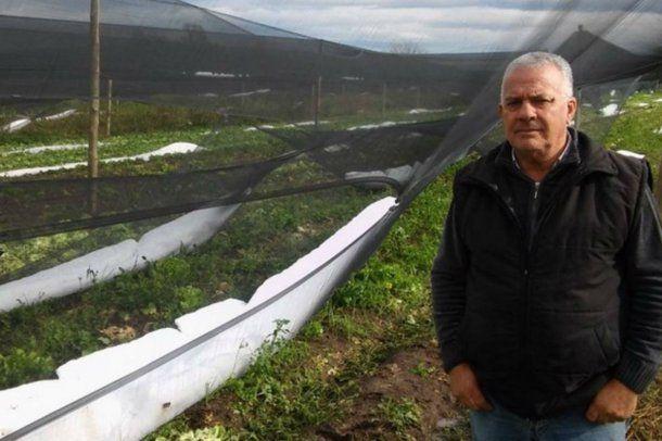 Juan Perlo es Presidente de la Asociación de productores hortículas de Córdoba
