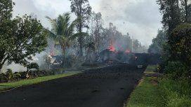 Hawái: un experto descubrió por Google Maps un Ovni cerca del volcán Kilauea