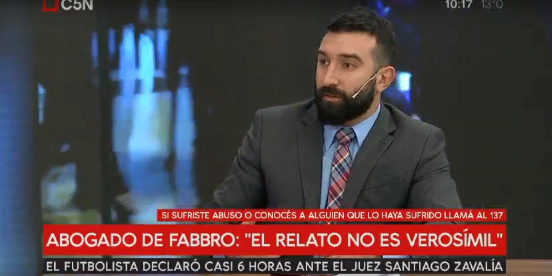 Habló el abogado de Fabbro: La menor miente, él es inocente