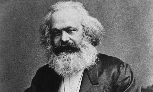 <p>Karl Marx</p>