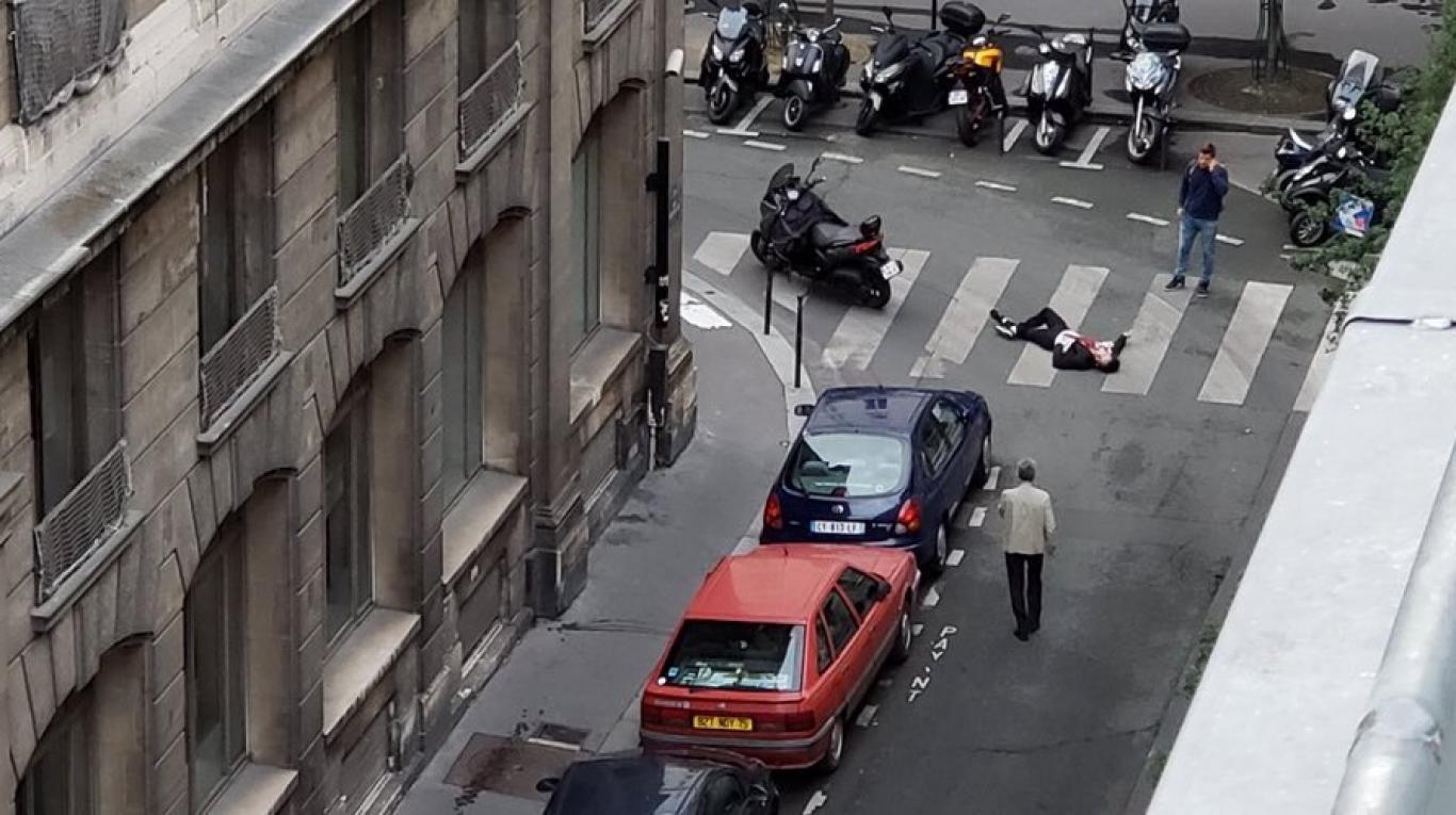El ataque ocurrió en las inmediaciones de la Plaza de la Ópera en París