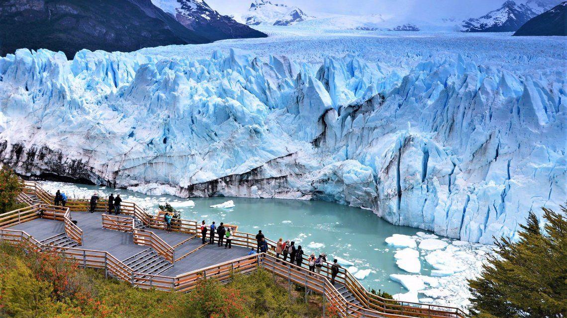 El Calafate fue protagonista de las redes sociales y no por el impactante glaciar Perito Moreno