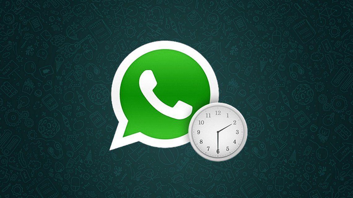 Paso a paso para programar mensajes en WhatsApp