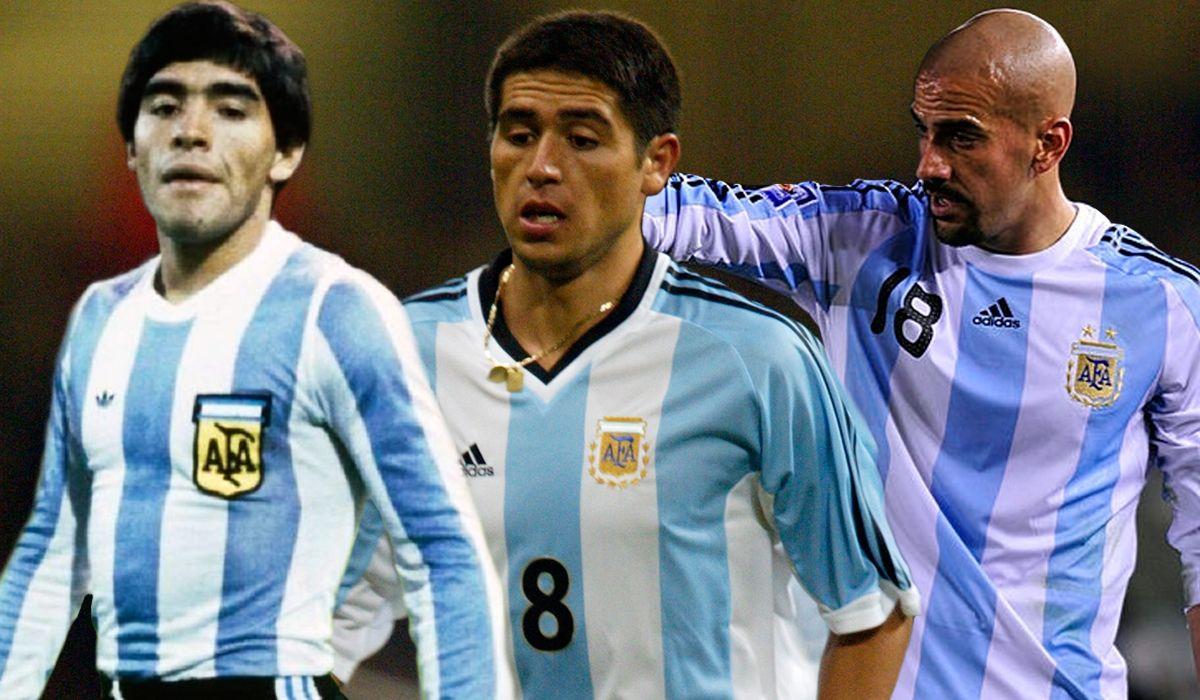 Los bajaron del avión y lo vieron por TV: los jugadores históricos que quedaron en la puerta del Mundial