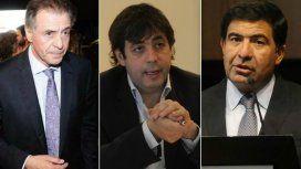 Cristobal Lopez, Fabián De Sousa y Ricardo Echegaray
