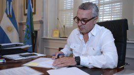 Julio Zamora, intendente de Tigre.