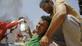 La llegada de EE.UU. a Jerusalén generó la protesta más sangrienta en Gaza