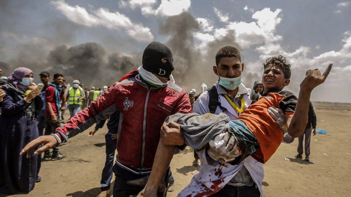 La llegada de la Embajada de EE.UU. a Jerusalén generó la protesta más sangrienta en Gaza