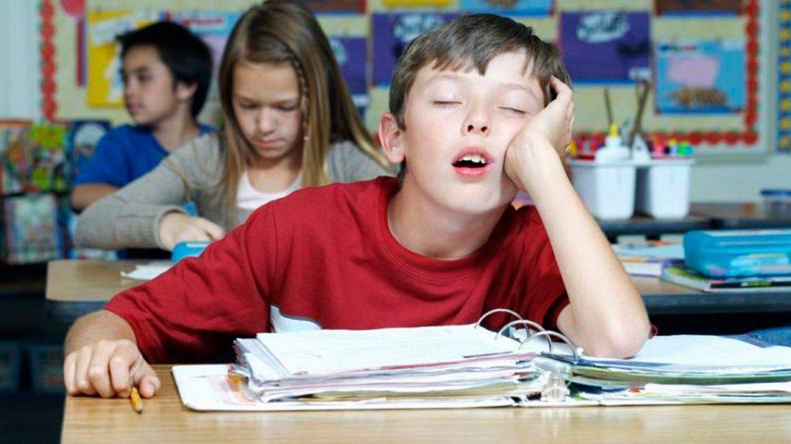 Está comprobado que a los adolescentes les cuesta madrugar