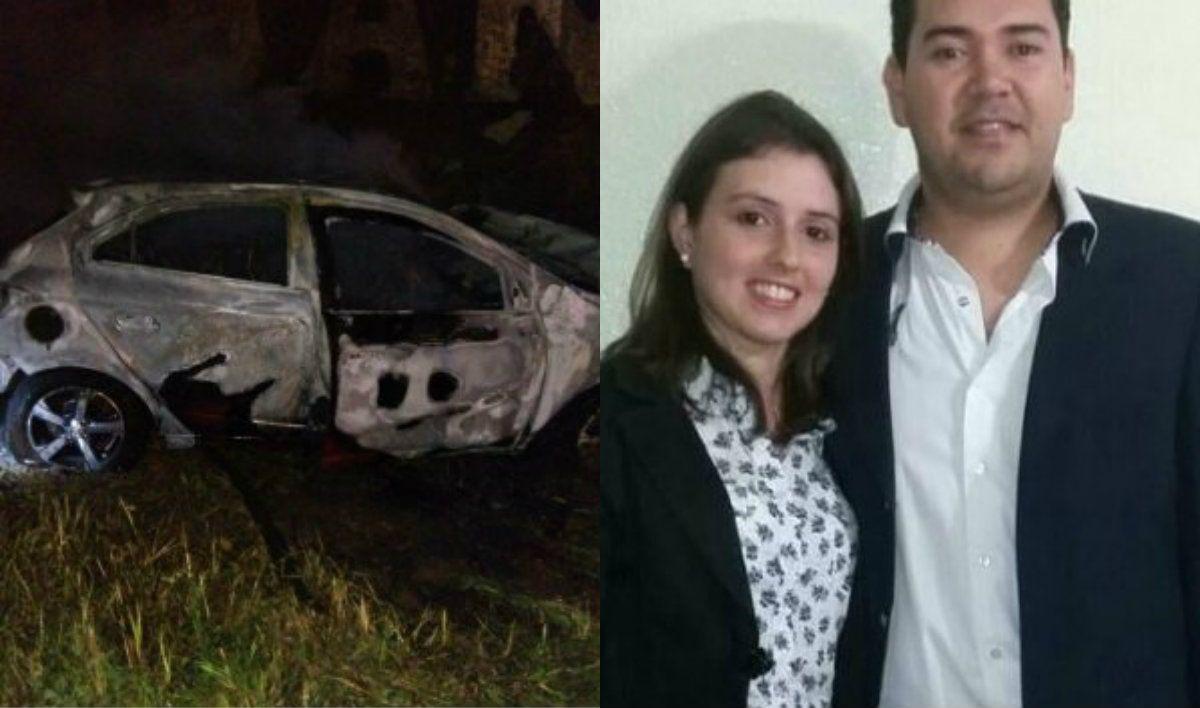 La policía cree que Pintos asesinó a Aguerre y luego chocó a propósito con su auto
