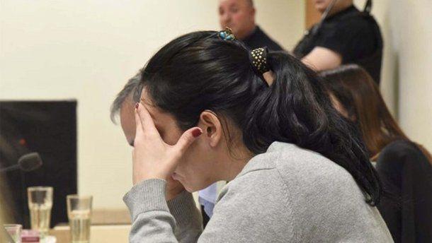 Nadia Kesen, durante el juicio en el que terminó condenada. (El Patagónico)