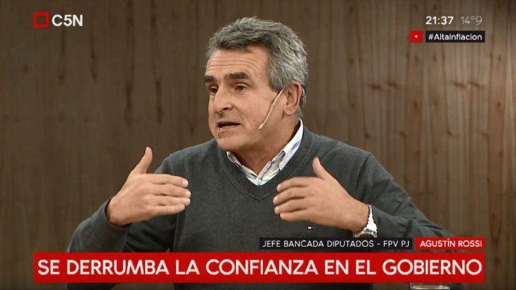 Agustín Rossi estuvo en MinutoUno con Gustavo Sylveste
