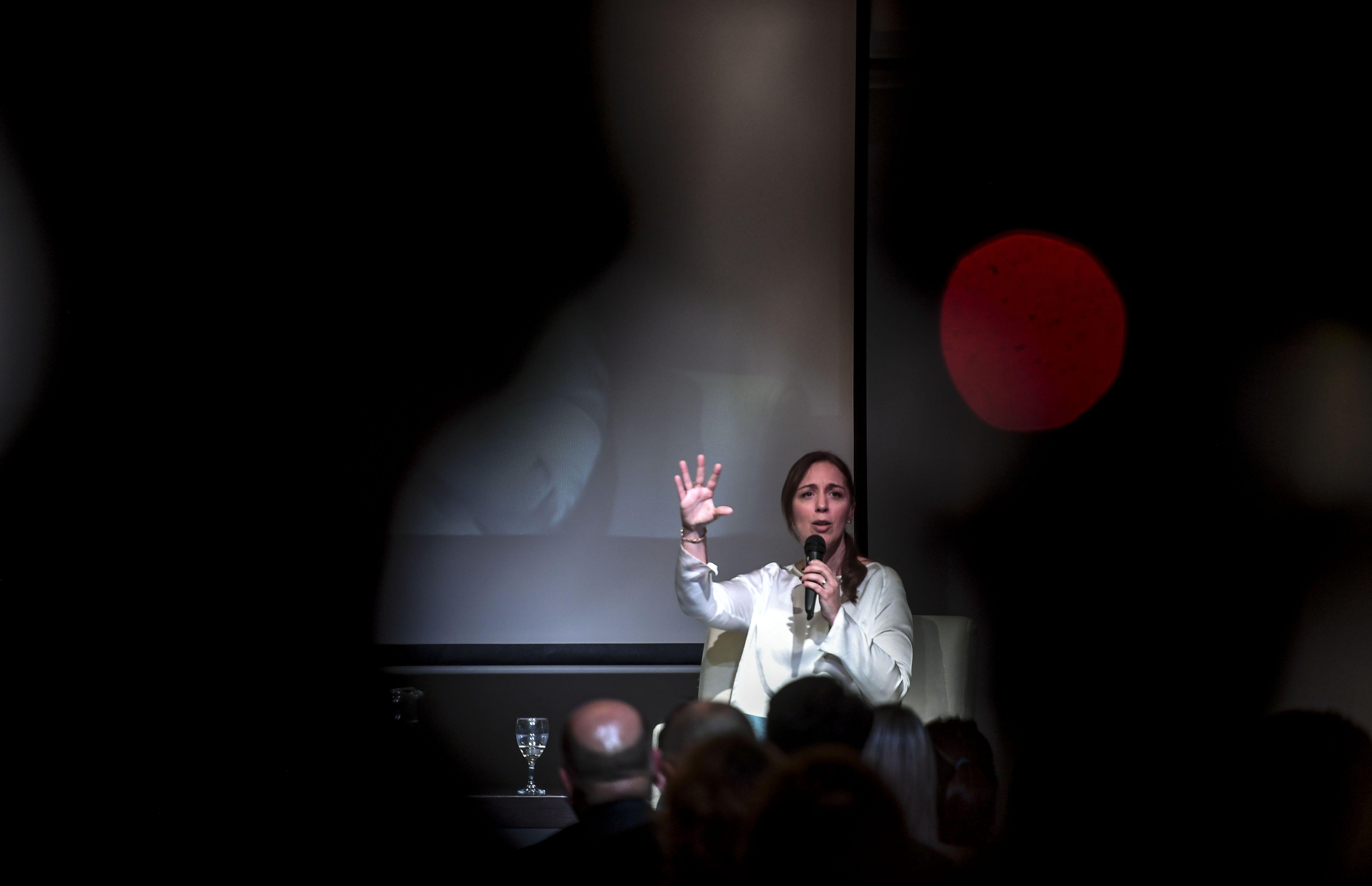 María Eugenia Vidal anunció un aumento para los docentes